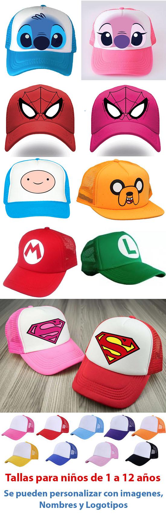 150421e8545c5 Grafiklab obsequios personalizados para niÑos en pachuca gorras para niños  personalizadas jpg 550x1719 Personalizadas gorros para